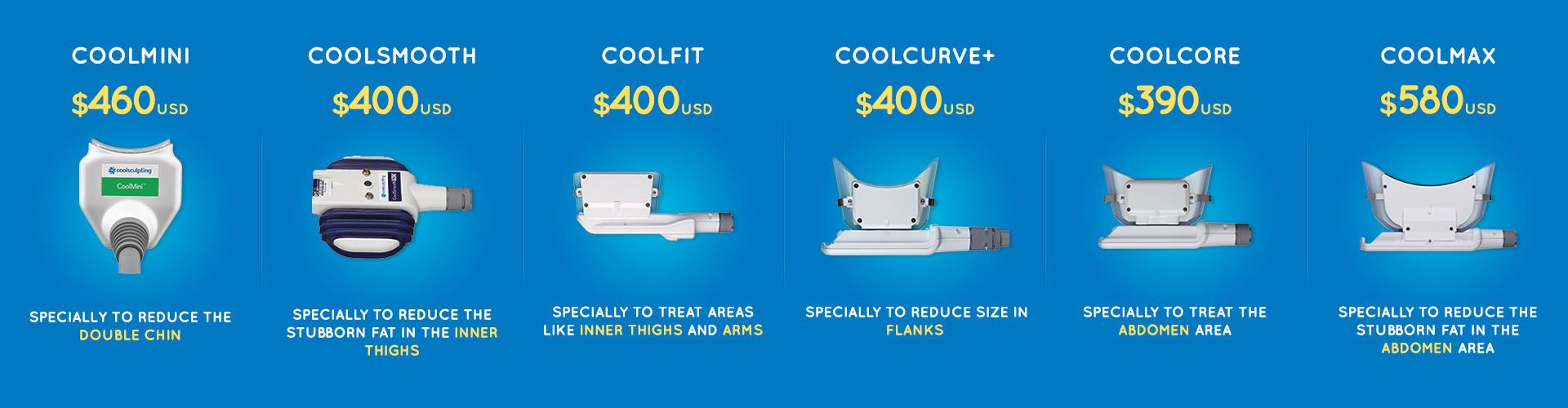 CoolSculpting Prices, Results, Treatments Areas